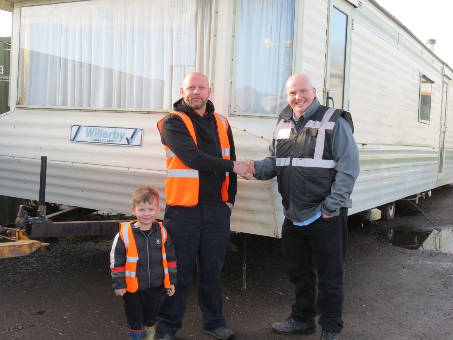 Going the extra mile – with a free static caravan