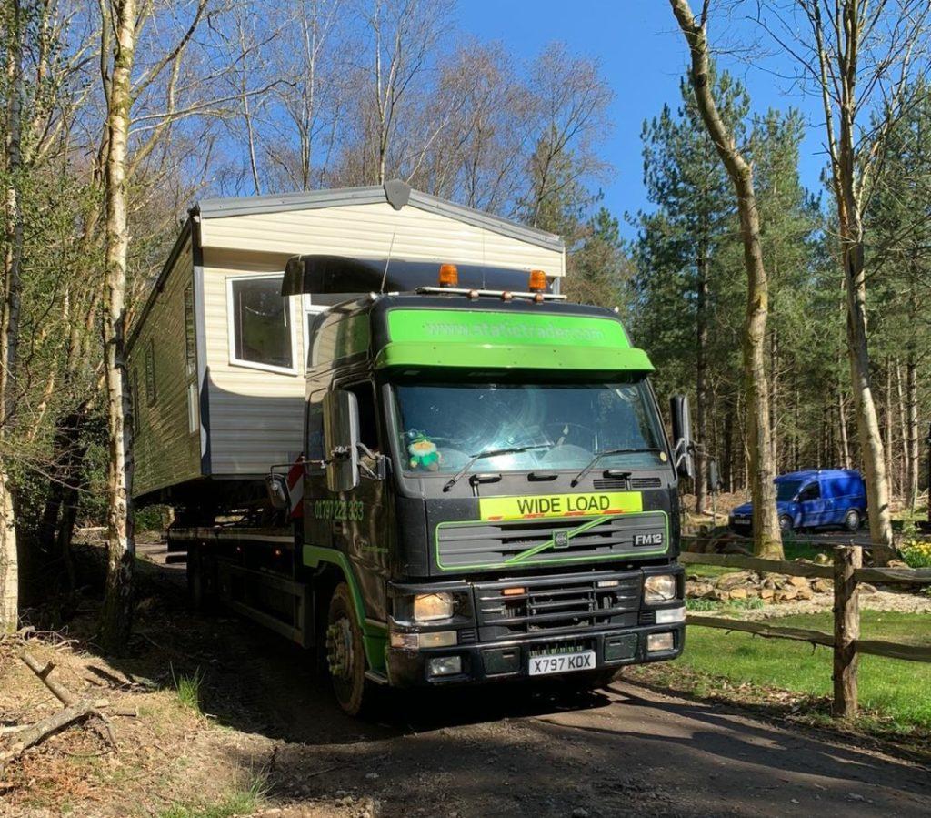 isolation units, static caravan