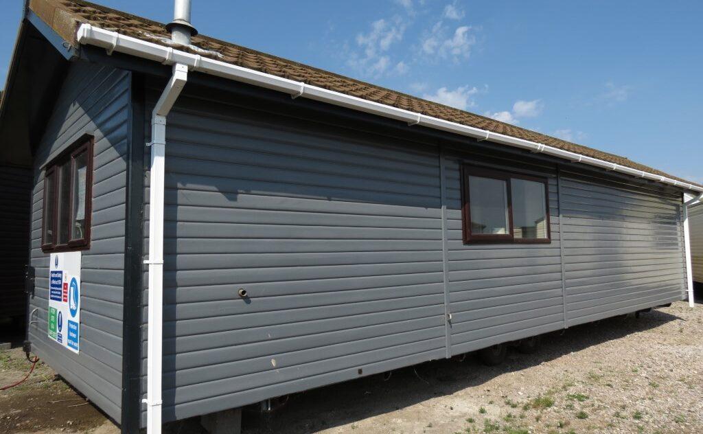 static caravan office, garden office