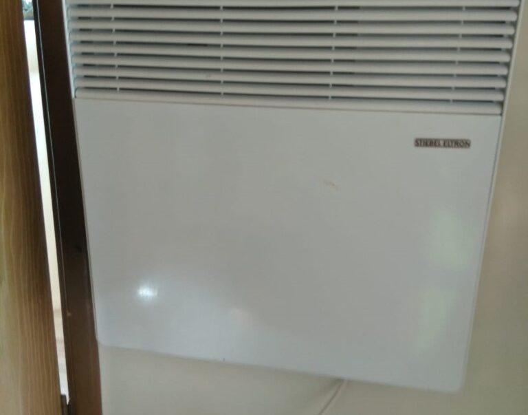 static caravan electric heating