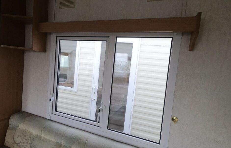 static caravan double glazing